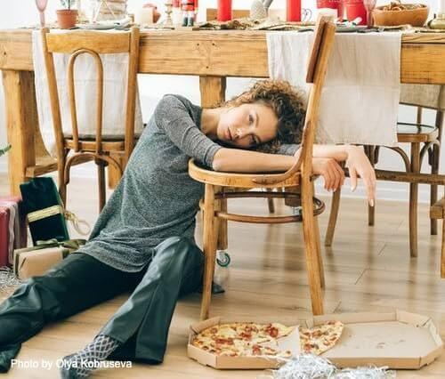 Navidad y adicción a la comida