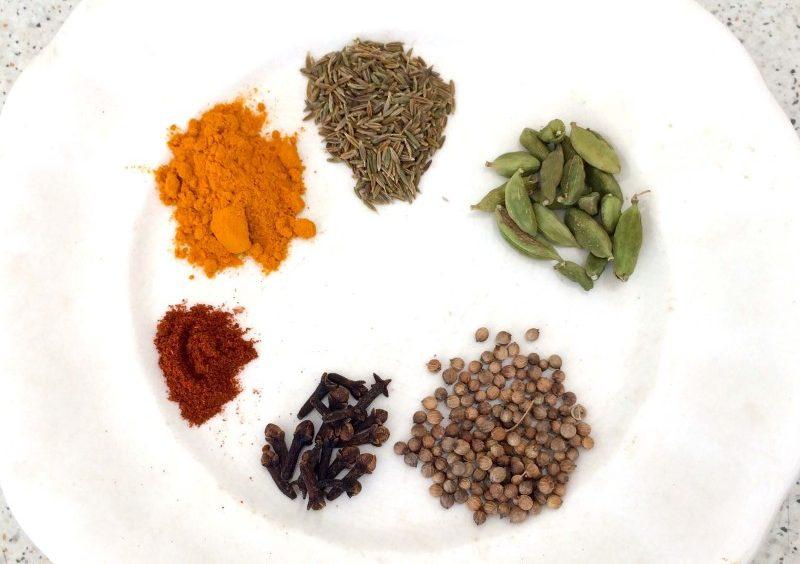 mezcla de especias para verduras